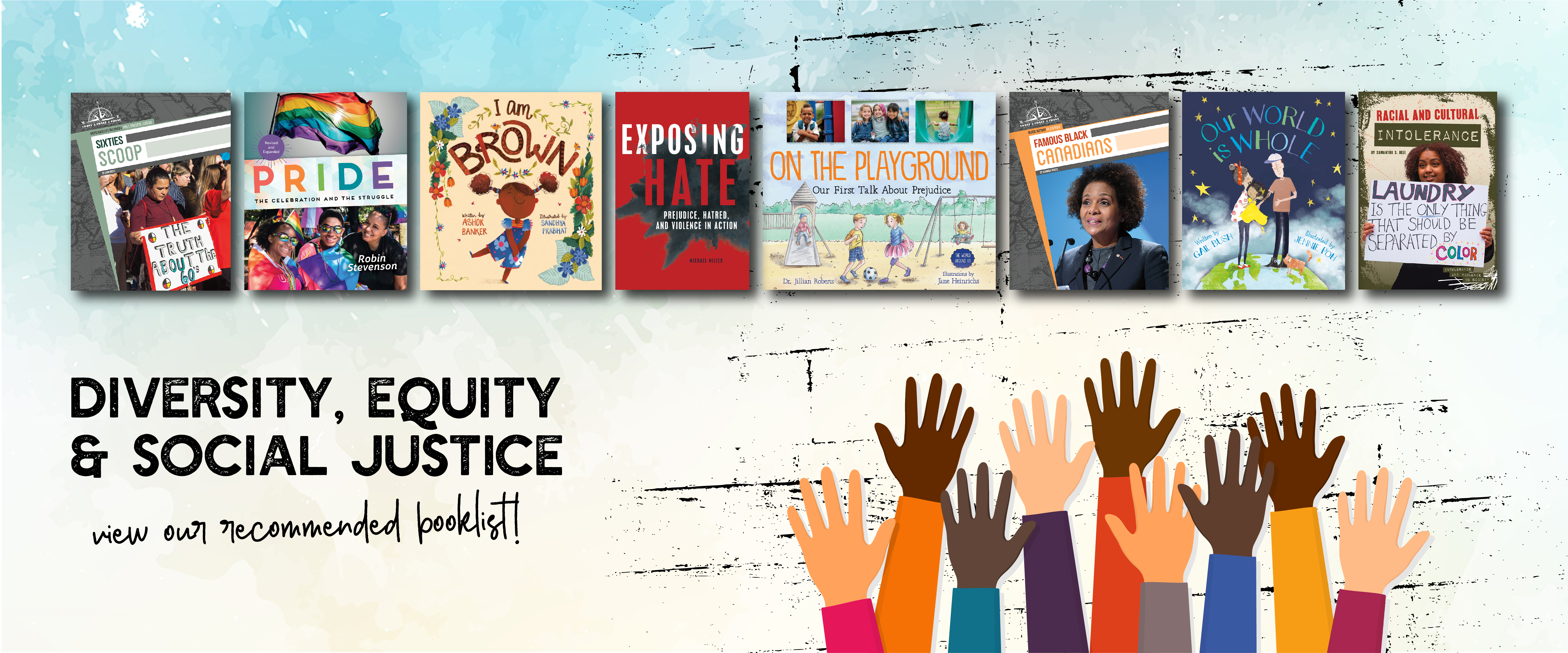 Diversity, Equity & Social Justice Booklist
